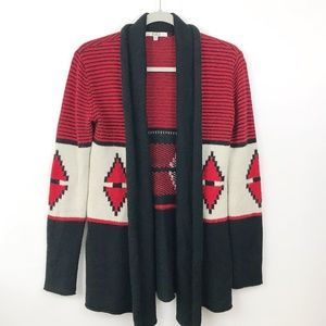 BB Dakota ELijah Cardigan Sweater Small Southwest